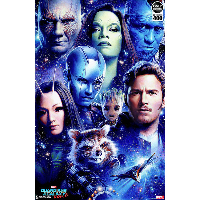 Sideshow Collectibles Marvel Art Print Guardians of the Galaxy Vol 2 46 x 61 cm - unframed