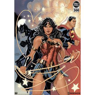 Sideshow Collectibles DC Comics Art Print Justice League 46 x 61 cm - unframed