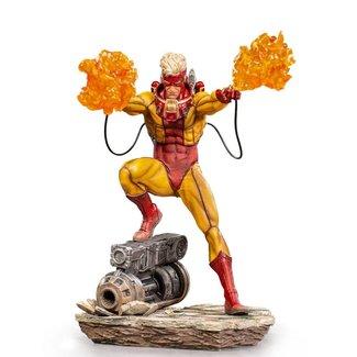Iron Studios Marvel Comics BDS Art Scale Statue 1/10 Pyro 19 cm