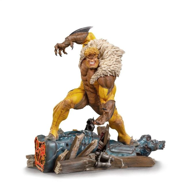 Iron Studios Marvel Comics BDS Art Scale Statue 1/10 Sabretooth 21 cm