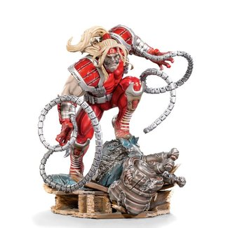 Iron Studios Marvel Comics BDS Art Scale Statue 1/10 Omega Red 21 cm