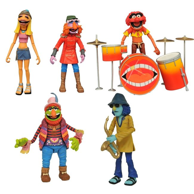 Muppets Deluxe Band Members Action Figure Box Set SDCC 2020