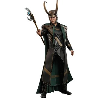 Avengers: Endgame Movie Masterpiece Series PVC Action Figure 1/6 Loki 31 cm