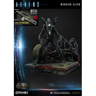 Prime 1 Studio Aliens Premium Masterline Series Statue Warrior Alien Deluxe Bonus Version 67 cm