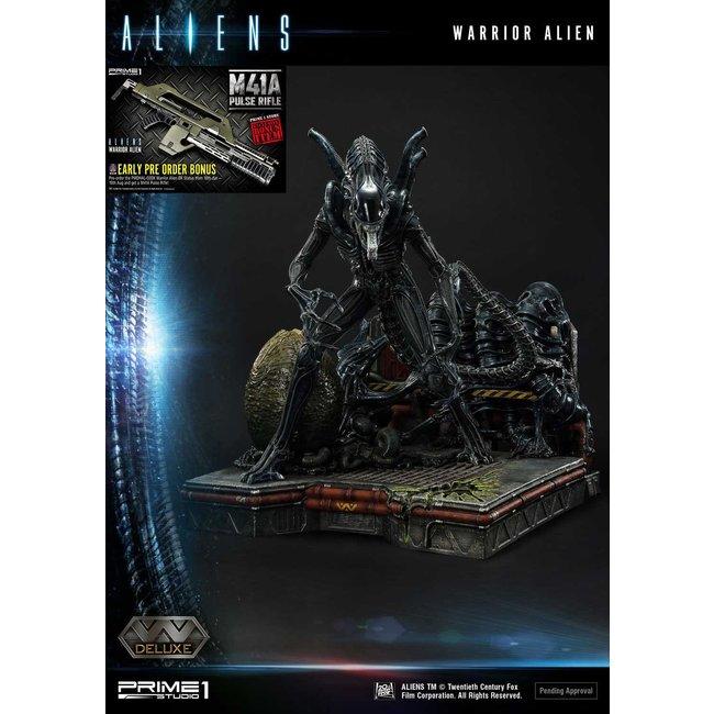 Prime 1 Studio Aliens Premium Masterline Series Statue Warrior Alien Deluxe Bonus Version 67 cm