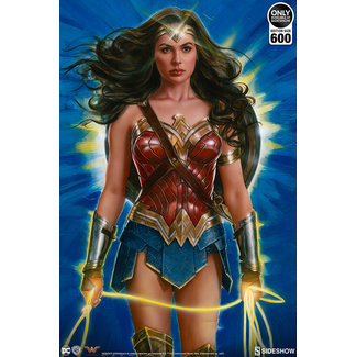 Sideshow Collectibles DC Comics Art Print Wonder Woman: Lasso of Truth 46 x 61 cm - unframed