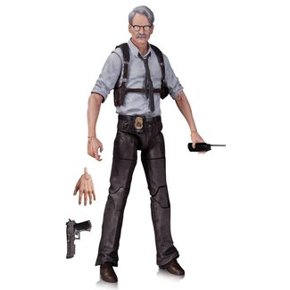 DC Collectibles Batman Arkham Knight Action Figure Commissioner Gordon