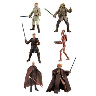 Hasbro Star Wars Black Series Action Figures 15 cm 2020 Wave 2 Assortment (6)