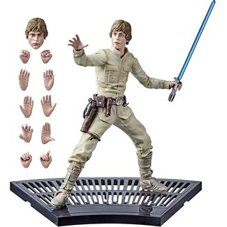 Hasbro Star Wars Episode V Black Series Hyperreal Action Figure Luke Skywalker 20 cm