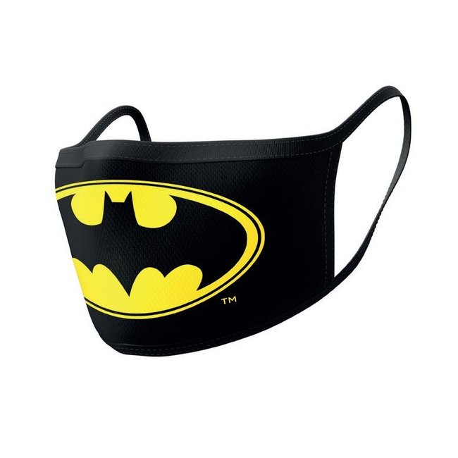Pyramid International Batman Face Masks 2-Pack Logo
