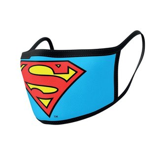Pyramid International Superman Face Masks 2-Pack Logo