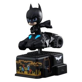 Hot Toys Batman The Dark Knight CosRider Mini Figure with Sound & Light Up Batman 13 cm