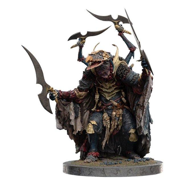 Weta Workshop The Dark Crystal: Age of Resistance Statue 1/6 SkekTek The Hunter Skeksis 40 cm