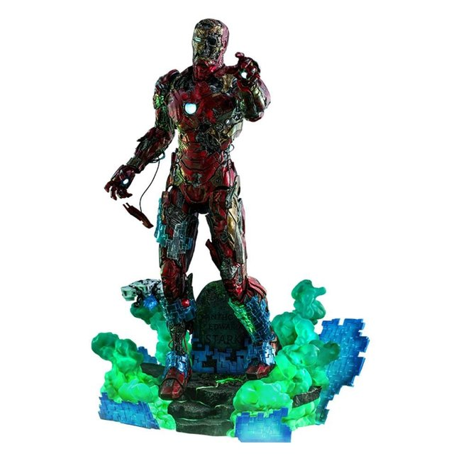 Spider-Man: Far From Home MMS PVC Action Figure 1/6 Mysterio's Iron Man Illusion 32 cm