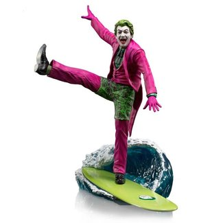 Iron Studios Batman 1966 Deluxe BDS Art Scale Statue 1/10 The Joker 23 cm