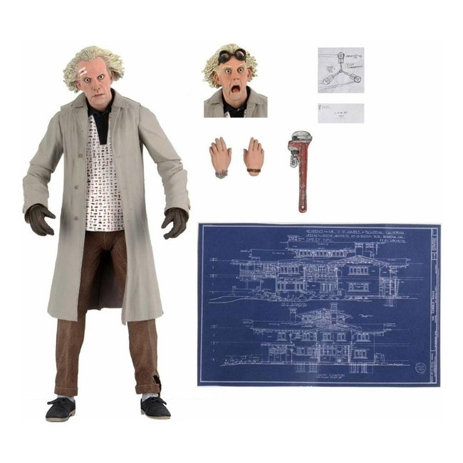 NECA  Back to the Future Action Figure Ultimate Doc Brown 18 cm