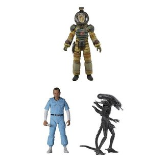 NECA  Alien Action Figure 18 cm 40th Anniversary Series 3 Assortment (3)