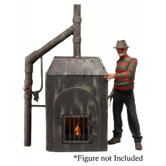 NECA  Nightmare on Elm Street Freddy´s Furnace Diorama