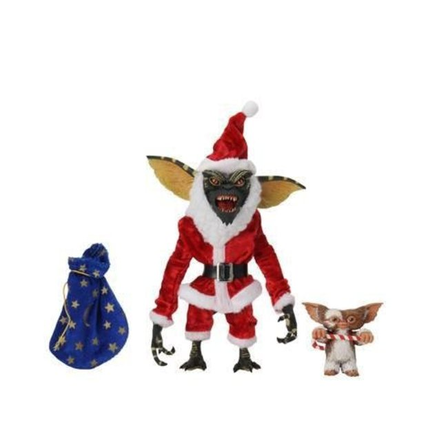 NECA  Gremlins Action Figure 2-Pack Santa Stripe & Gizmo 18 cm
