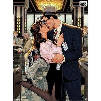 Sideshow Collectibles DC Comics Art Print Lois & Clark: Fireworks!! 46 x 61 cm - unframed