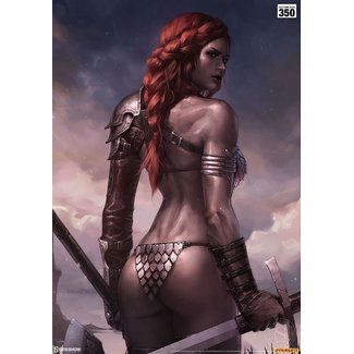 Sideshow Collectibles Red Sonja Art Print Birth of the She-Devil (Pre-Battle Version) 46 x 61 cm - unframed