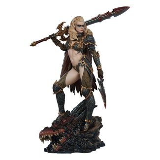 Sideshow Collectibles Sideshow Originals Statue Dragon Slayer: Warrior Forged in Flame 47 cm