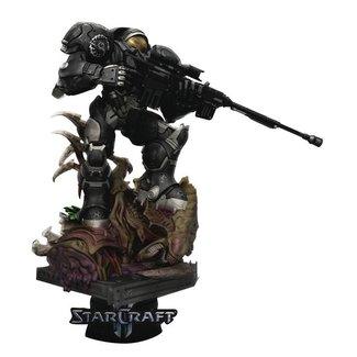 Beast Kingdom StarCraft II D-Stage PVC Diorama Jim Raynor 18 cm