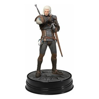 Dark Horse Comics Witcher 3 Wild Hunt PVC Statue Heart of Stone Geralt Deluxe 24 cm