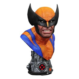 Diamond Select Toys Marvel Comics Legends in 3D Bust 1/2 Wolverine 25 cm