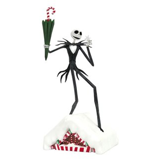 Diamond Select Toys Nightmare before Christmas Gallery PVC Statue What Is This Jack 28 cm