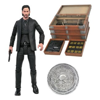 Diamond Select Toys John Wick Deluxe Action Figure Box Set 18 cm