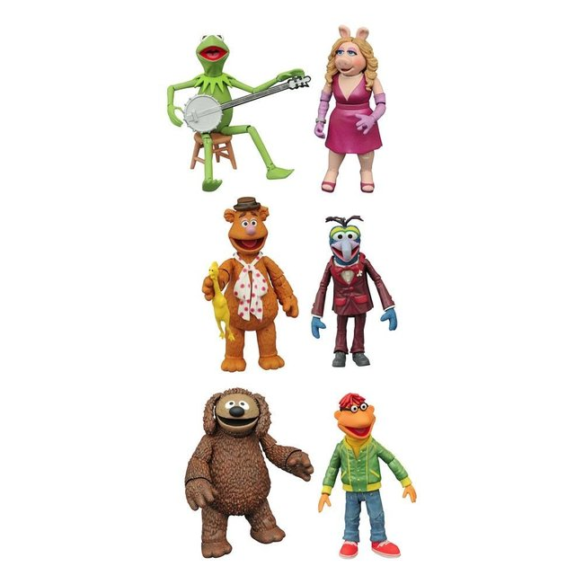 Diamond Select Toys The Muppets Select Action Figures 13 cm 2-Packs Best Of Series 1 Assortment (3)