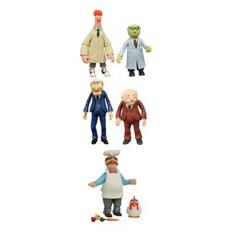 Diamond Select Toys The Muppets Select Action Figures 13 cm 2-Packs Best Of Series 2 Assortment (3)