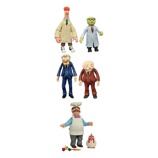 The Muppets Select Action Figures 13 cm 2-Packs Best Of Series 2 Assortment (3)