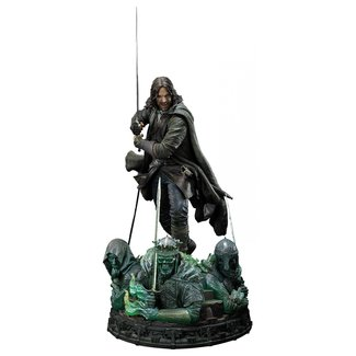 Prime 1 Studio Lord of the Rings Statue 1/4 Aragorn Deluxe Version 76 cm