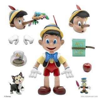 Super7 Disney Ultimates Action Figure Pinocchio 18 cm