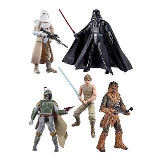 Hasbro Star Wars Episode V Black Series Action Figures 15 cm 40th Anniversary 2020 Wave 3 Assortment (5)