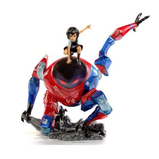 Iron Studios Spider-Man: Into the Spider-Verse BDS Art Scale Deluxe Statue 1/10 Peni Parker & SP 25 cm