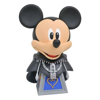 Diamond Select Toys Kingdom Hearts 3 Legends in 3D Bust 1/2 Mickey Mouse 25 cm