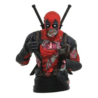 Gentle Giant Studios Marvel Bust 1/6 Deadpool Zombie SDCC 2020 15 cm