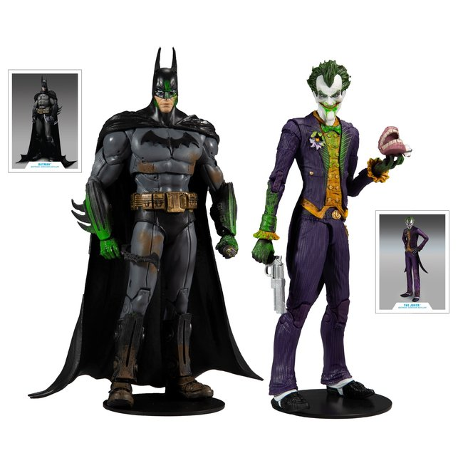 McFarlane DC Multiverse Action Figure Collector Multipack Arkham Asylum Batman VS Arkham Asylum Joker 18 cm