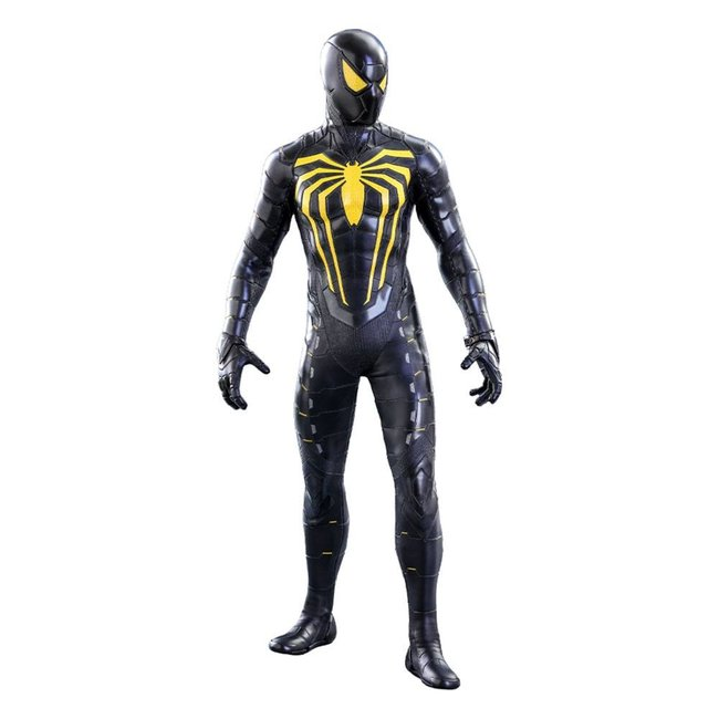 Hot Toys Marvel's Spider-Man Video Game Masterpiece Action Figure 1/6 Spider-Man (Anti-Ock Suit) Deluxe 30 cm