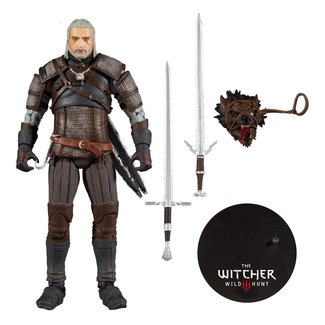 McFarlane The Witcher Action Figure Geralt 18 cm