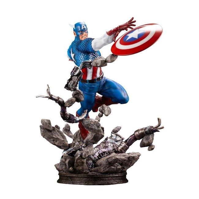 Kotobukiya  Marvel Comics Fine Art Statue 1/6 Captain America 36 cm
