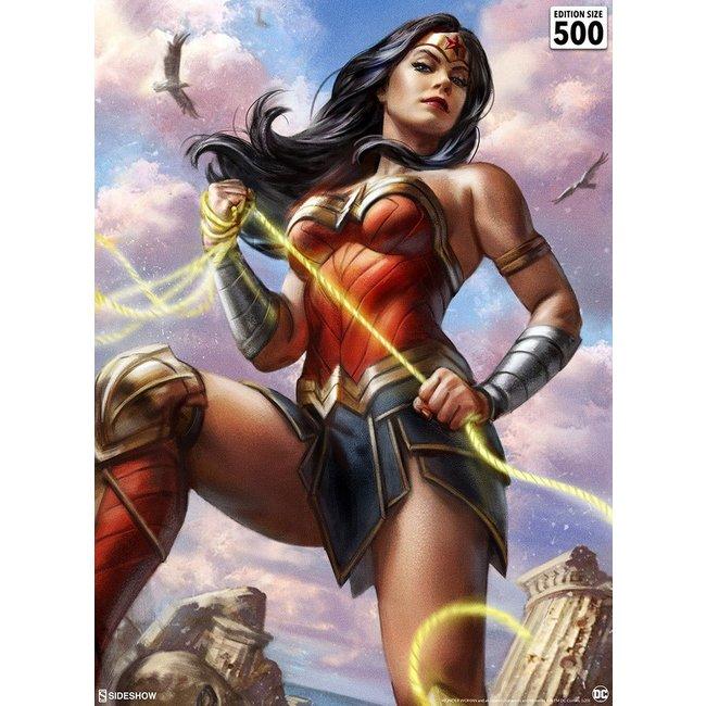 Sideshow Collectibles DC Comics Fine Art Print Wonder Woman #755 46 x 61 cm - unframed
