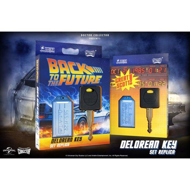 Doctor Collector Back To The Future Replica 1/1 DeLorean Key