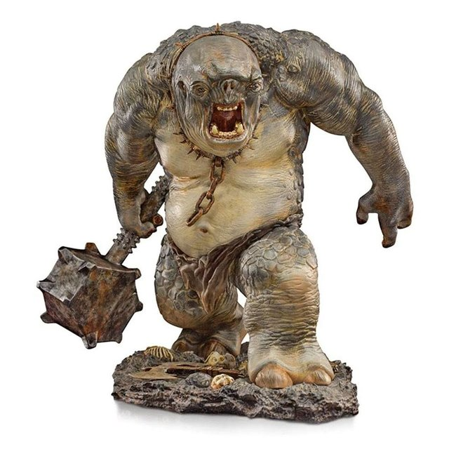 Lord Of The Rings Deluxe BDS Art Scale Statue 1/10 Cave Troll 46 cm