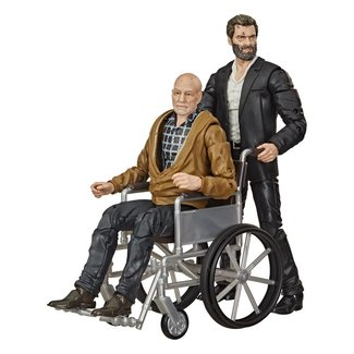 Hasbro Marvel Legends Series Action Figure 2-Pack 2020 Marvel's Logan & Charles Xavier Exclusive 15 cm