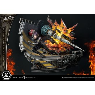 Prime 1 Studio Alita: Battle Angel Statue 1/4 Alita Berserker Motorball Tryout 64 cm