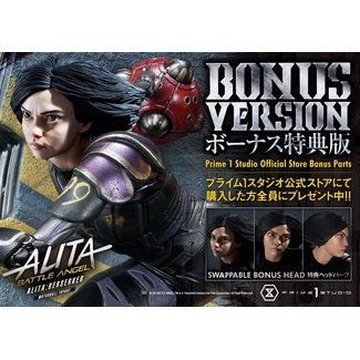 Prime 1 Studio Alita: Battle Angel Statue 1/4 Alita Berserker Motorball Tryout Bonus Version 64 cm